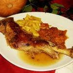 Paletilla de Cordero Lechal al Horno, en su jugo :: © Restaurante Horno de Víznar