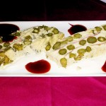 Pastel de Espárragos :: © Restaurante Horno de Víznar