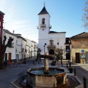 Plaza de la Constitución, Víznar :: Restaurante Horno de Víznar